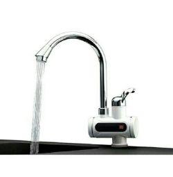 Ekran göstergeli anlık musluk suyu ısıtıcısı