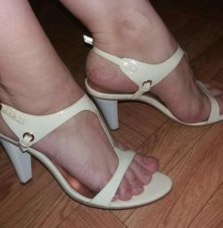 Sandals nat.lak