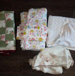 Bebek battaniyeleri çok