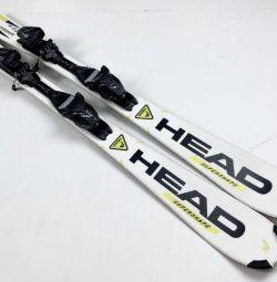 Kids Alpine Skiing 120 cm Head