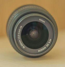 Lentilă Nikon DX af-s nikkor 18-55mm 1 3,5-5,6 g