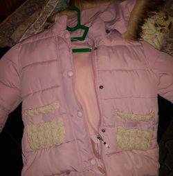 Χειμερινό μπουφάν για κορίτσια