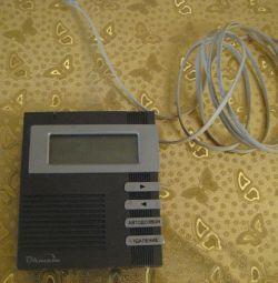 Caller ID for landline phone.