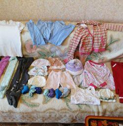 Un pachet de haine pentru o fată 122 / 134cm