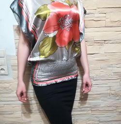 Μπλούζες είναι μεταξωτά με φωτεινά χρώματα νέα!