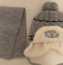 Hat and scarf set new