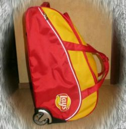 Trolley bag with handle