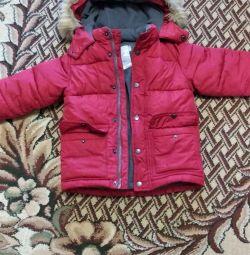 Jacheta puf pentru baiat 110r