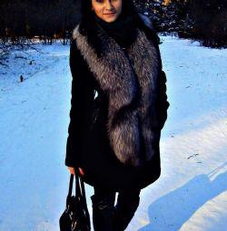 Γούνινο παλτό και αλεπού αλεπού