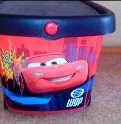 Box Container pentru depozitarea jucăriilor