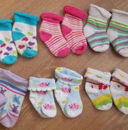 Socks from birth