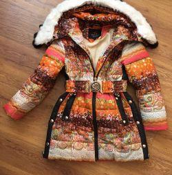 Ένα ζεστό, χειμωνιάτικο σακάκι (ηλικίας 5-6 ετών)