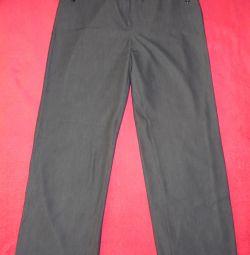 Pantaloni clasici 48-50r. în stare bună
