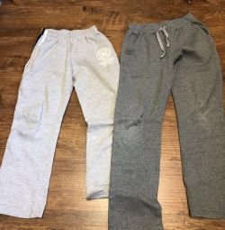 Sports pants for boys of different sizes