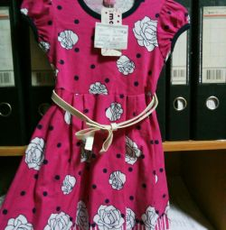Новое платье. Рост 92