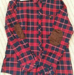 Nou cămașă de flanel