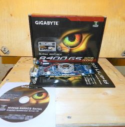 Gigabyte GeForce 8400GS Video Card