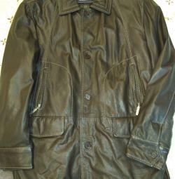 Jachetă din piele pentru bărbați