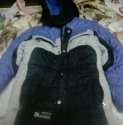Jacket for a boy of 8 years