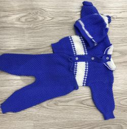 Knitted costume 0+