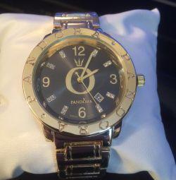 Ladies watch pandora gold