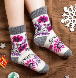 Μάλλινες κάλτσες για γυναίκες