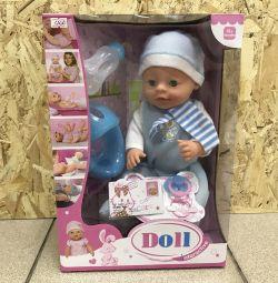 Μικρές κούκλες ανάλογες του Baby bon με ένα δοχείο του dr
