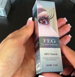 Ser pentru creșterea genelor FEG Eyelash En