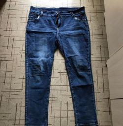 Jeans pentru femei 58-60 mari
