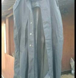 Cloak rubberized
