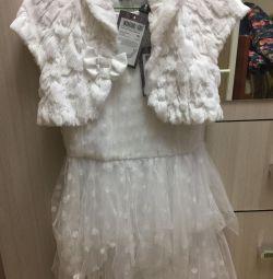 Φόρεμα και μπολερό νέο