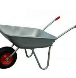 Wheelbarrow garden 100 kg 85 liters.