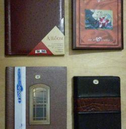 Photo albums, new
