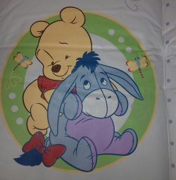 Mattress for swaddling Winnie the Pooh