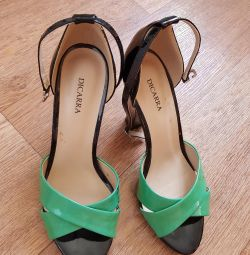 Sandals are shoe-lined 1 time, nat.kozha, 39r