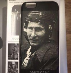 Чехол хоккеист iPhone 6 и ещё 6 чехлов подарок