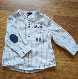 Shirt on the boy r. 62-68