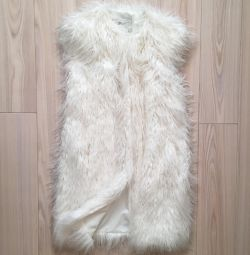 New fur vest