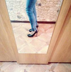 Ayakkabı p 35 topuk 10cm