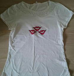 Tricou de culoare albă