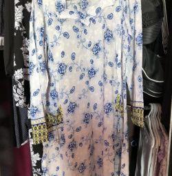 Платье мусульманское+палантин новый+лосины