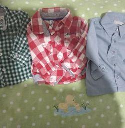 Shirts 62,68 rub