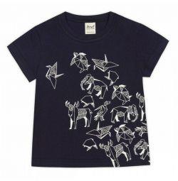 T-shirt Νέα νυχτερινό ουρανό Origami