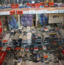 пульти для телевізорів, кінескоп, Ж.К. LCD.