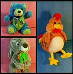 Bear, Rabbit and Cockerel new