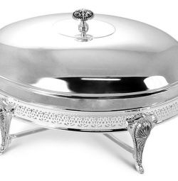 Regent Dish Heated Brittany Oval Lid
