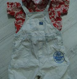 Summer overalls mothercare 74-80