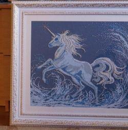 Beadwork Unicorn