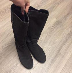 Winter boots 41 size not on a narrow leg
