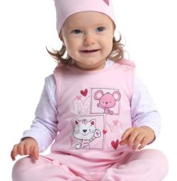 Clothes for girls, kit